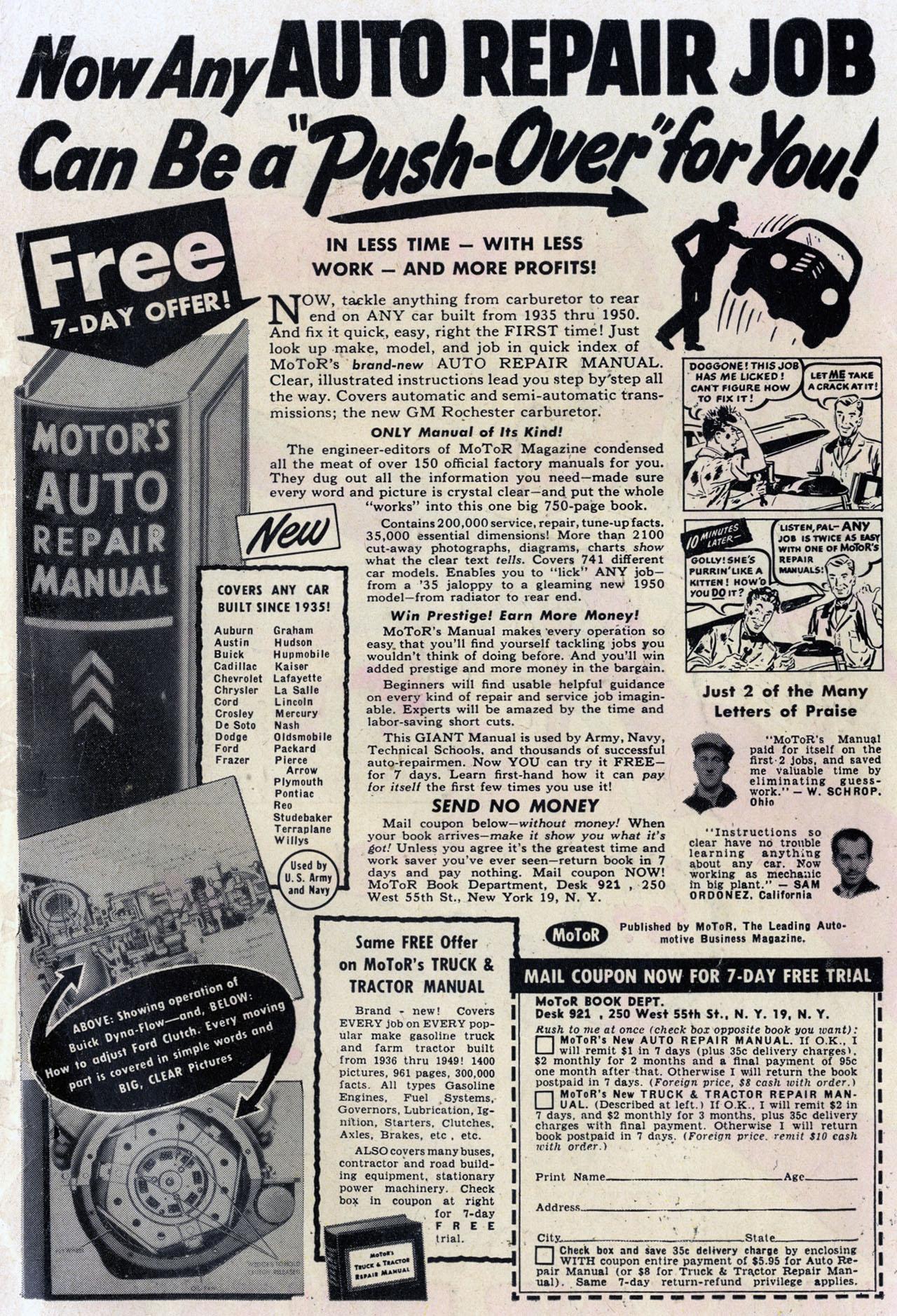 Read online Detective Comics (1937) comic -  Issue #168 - 51