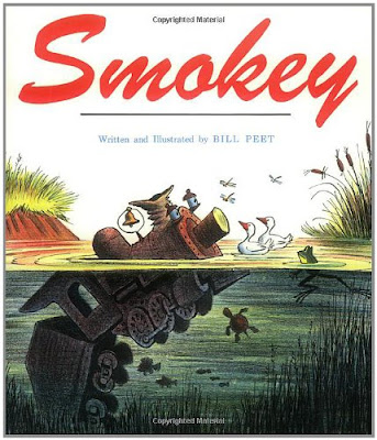 Smokey, part of Bill Peet book review list and resources
