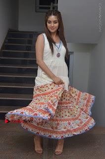 Telugu Actress Anu Emmanuel New Stills in Beautiful White Long Dress  0080.JPG