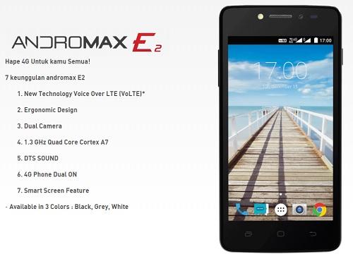 Kelebihan Smartfren Andromax E2