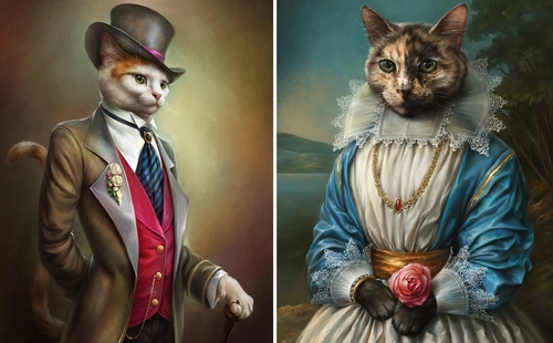 00-Eldar-Zakirov-Digital-Art-Illustrations-of-Smartly-Dressed-Cats-www-designstack-co