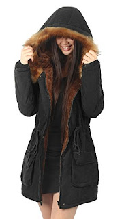 iLoveSIA Womens Hooded Warm