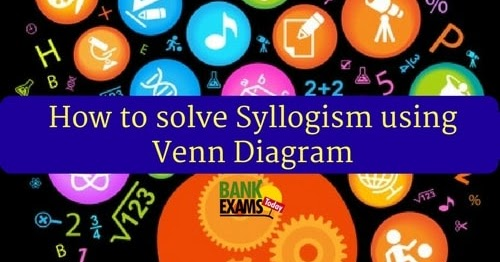 how to solve syllogism with venn diagram how to solve syllogism using venn diagram bank exams today