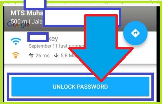 Langkah-Langkah Mengetahui Password Wifi dengan Aplikasi Wifi Map 5