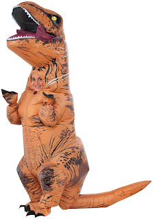 Jurassic World Inflatable Child Costume