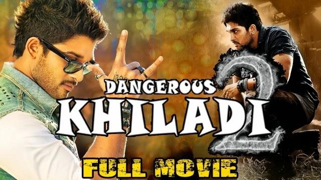 Ak Tha Khiladi Moovi Hindi: Dangerous Khiladi 2 (2013) (Hindi Dubbed) Bluray