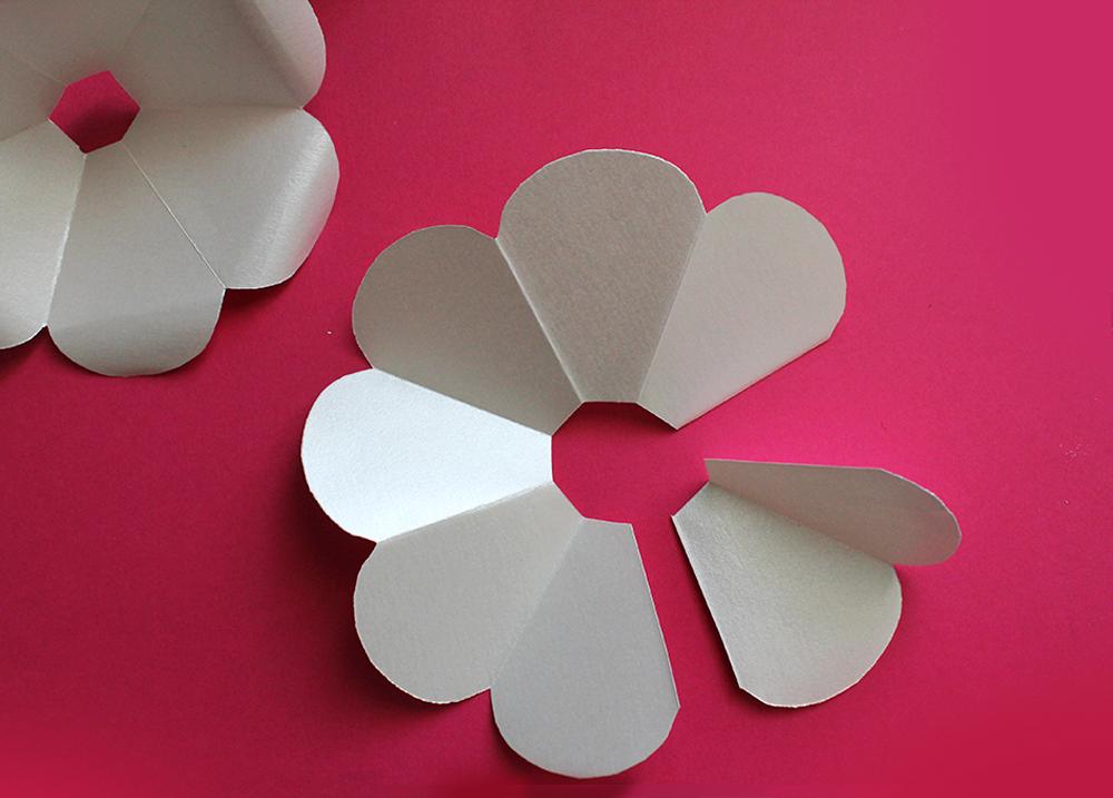 Diy Rose En Papier Le Candy Bar