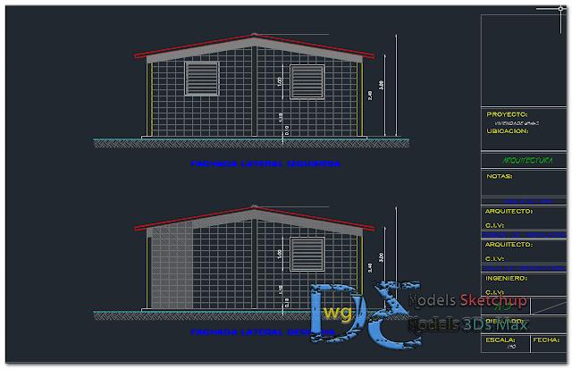 House 65 m2 Dwg