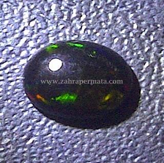 Batu Permata Black Opal Kalimaya - ZP 362