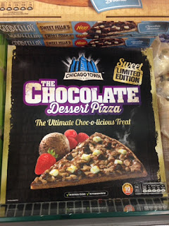 chicago town the chocolate dessert pizza