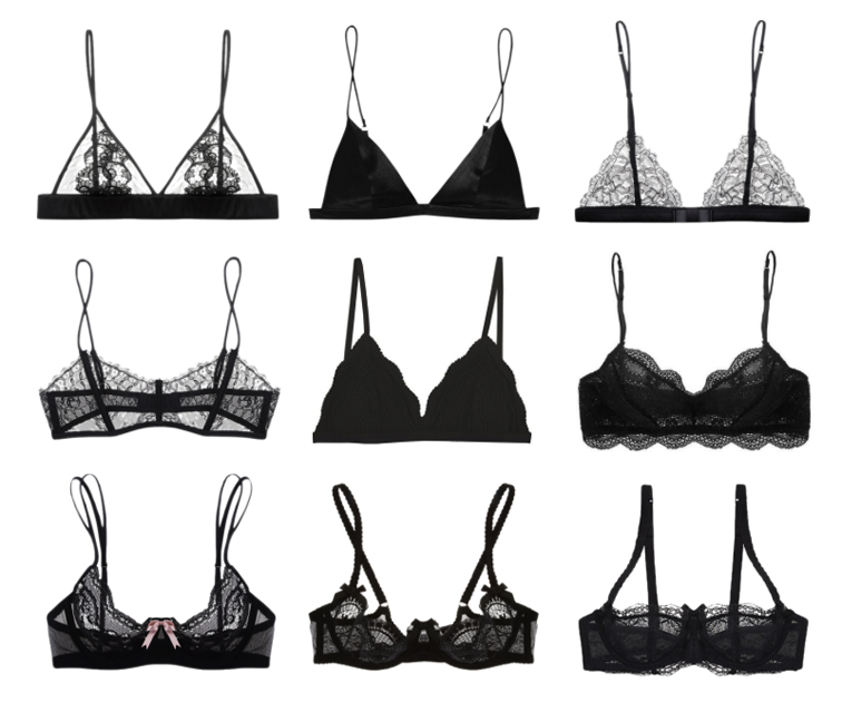 a37543526f 7 Plus Size Bralettes In Lacy Black That Will Keep Your Boobs ...