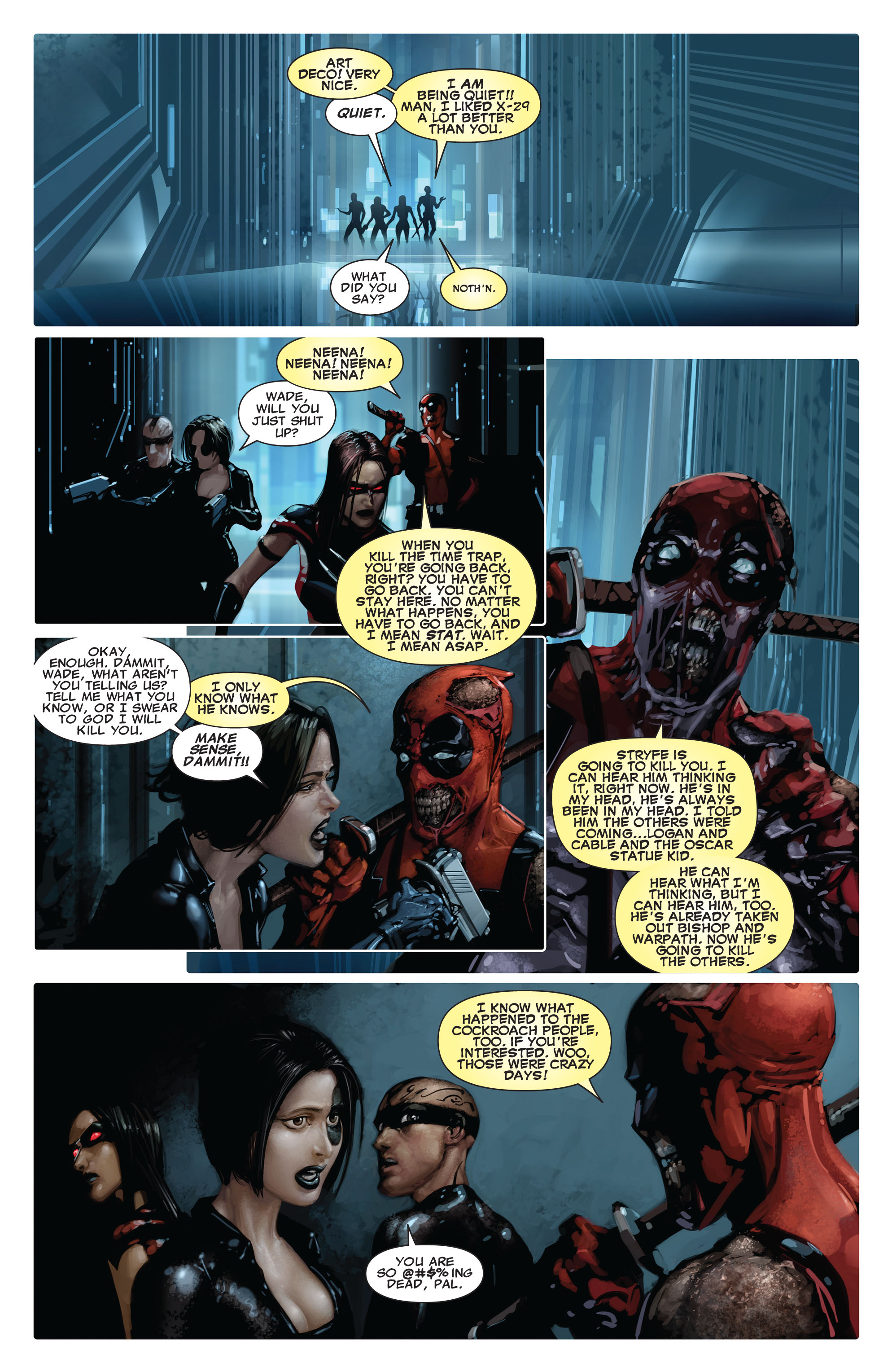 Read online X-Force (2008) comic -  Issue #15 - 15