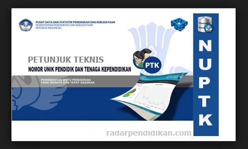 Juknis NUPTK 2019 PDF