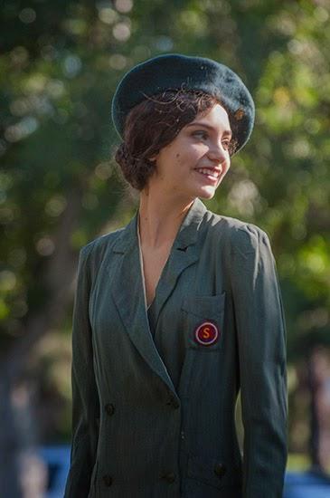 Ticket to the Twenties fashion show vintage dress