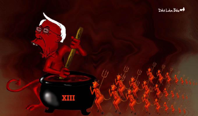 Một vài khó khăn cho Đại hội đảng Cộng sản lần thứ 13