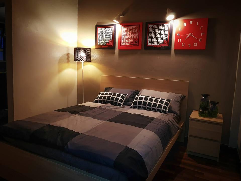 Untuk Bilik Tidur Utama Saya Gunakan Warna Pastel Atau Neutral Bagi Menaikkan Mood Relaxing