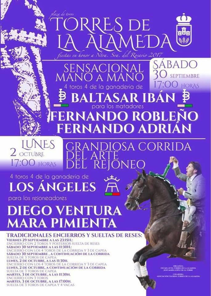 Torres De La Alameda Fiestas Patronales 2017 Madrid Fecartoros Pasión
