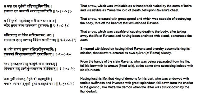 ramayana ravana death