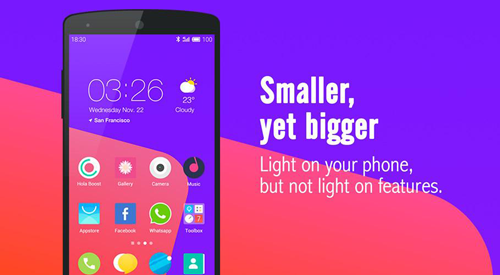Hola Launcher - Best Android Launcher Free Simple and fast
