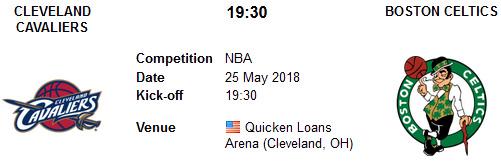 Cleveland Cavaliers vs Boston Celtics en VIVO