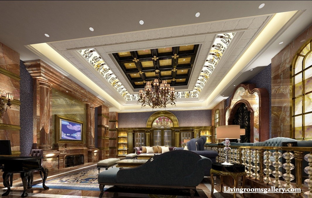 30 Elegant Modern Pop False Ceiling Designs For Living Room Living Rooms Gallery
