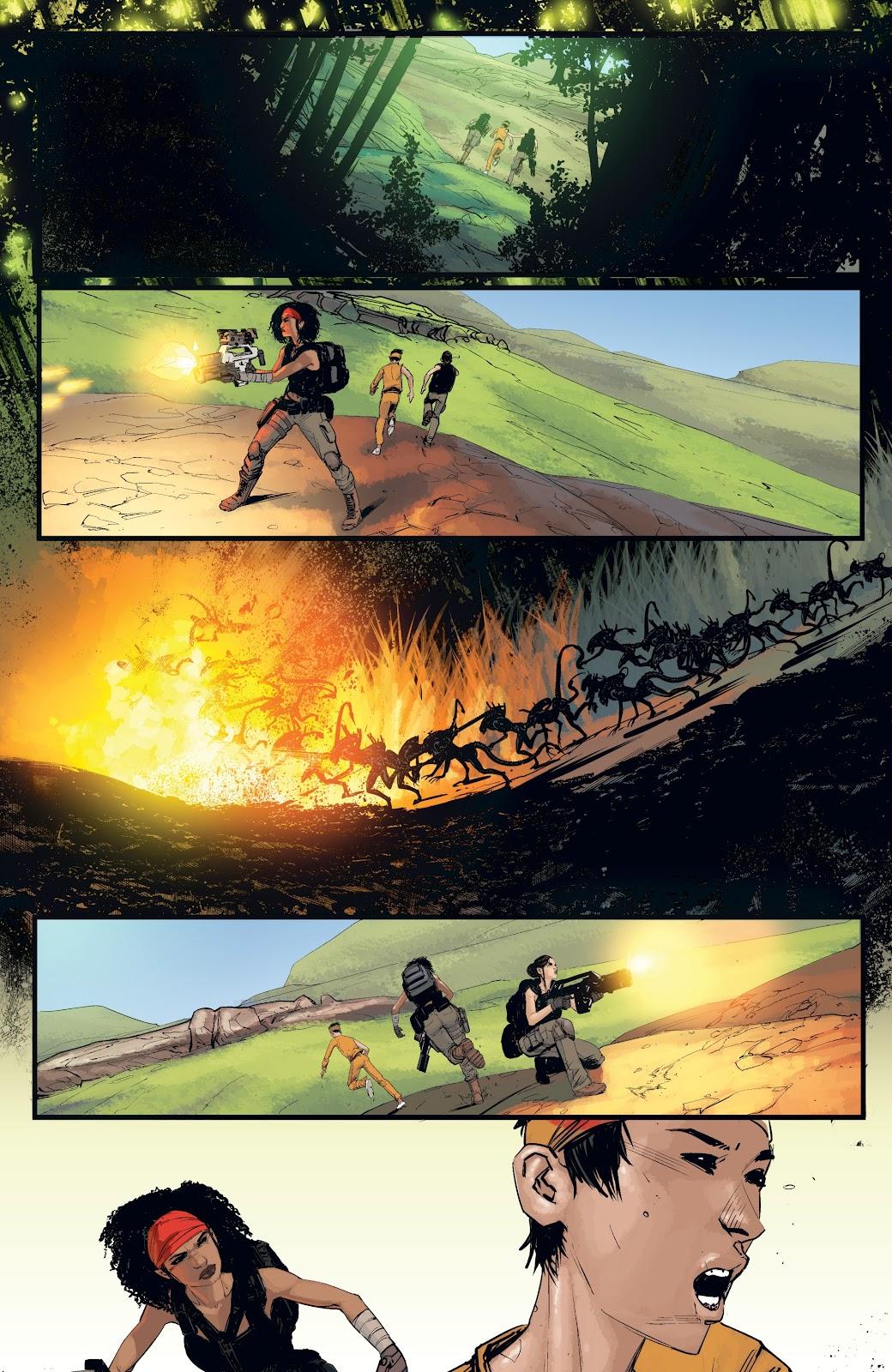 Read online Aliens: Resistance comic -  Issue #4 - 14