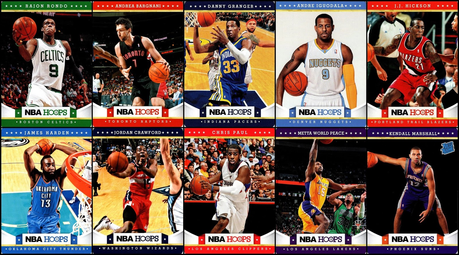 46a9a4e0e5f 10 new cards from the most recent food promo in the NBA. these are the  highlights for me