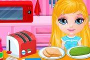 لعبة طبخ طفلة باربي