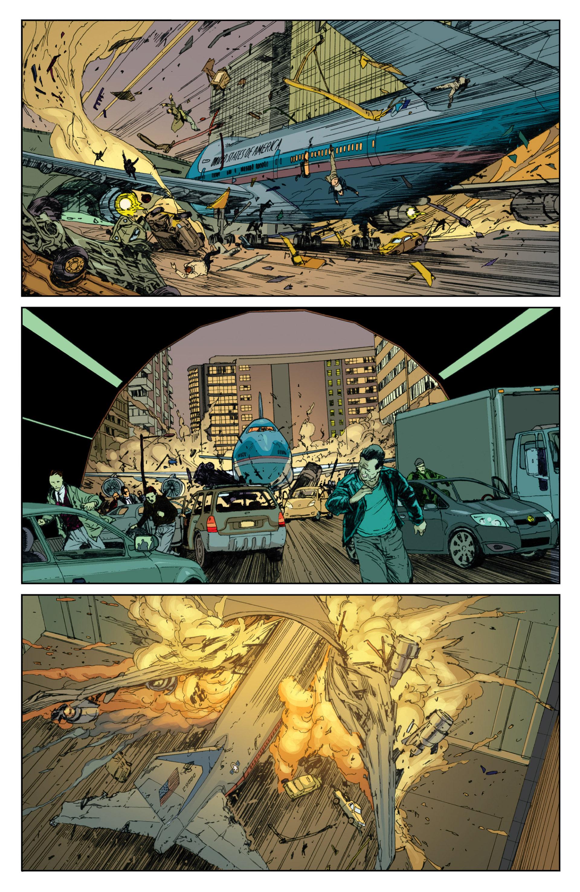 Read online Millar & McNiven's Nemesis comic -  Issue #1 - 23