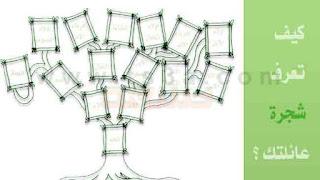 طريقة معرفة شجرة العائلة الشخصية, طريقة معرفة الاسم كامل واصول العائلة