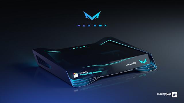 رسميا إختيار الشكل النهائي لجهاز Mad Box القادم لمنافسة منصات PS5 و Xbox ، لنشاهد أول الصور من هنا..