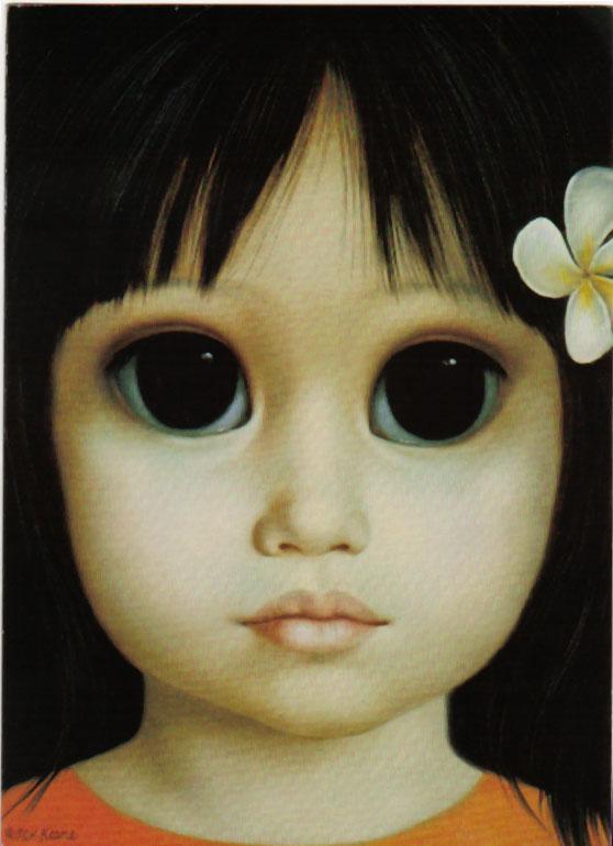 Eying a Legacy: Margaret Keane's Paintings, Made Famous in ...  |Artist Keane Big Eyes