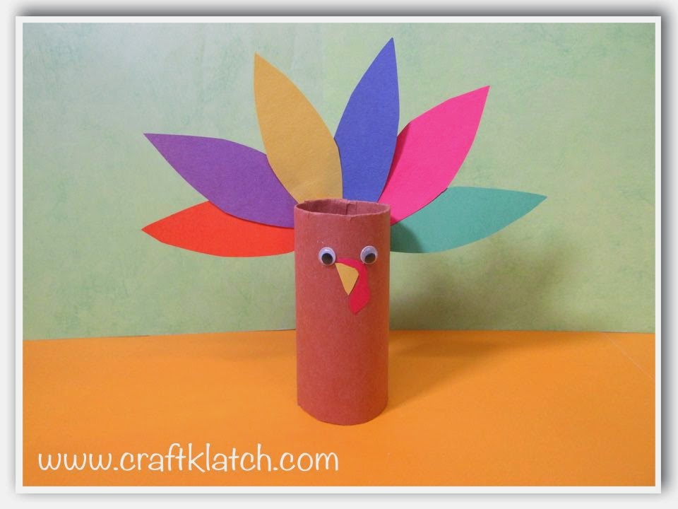 Craft Klatch Easy Turkey Recycling Craft For Thanksgiving