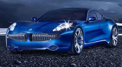 New 2017 Karma Revero front view blue Wallpaper HD