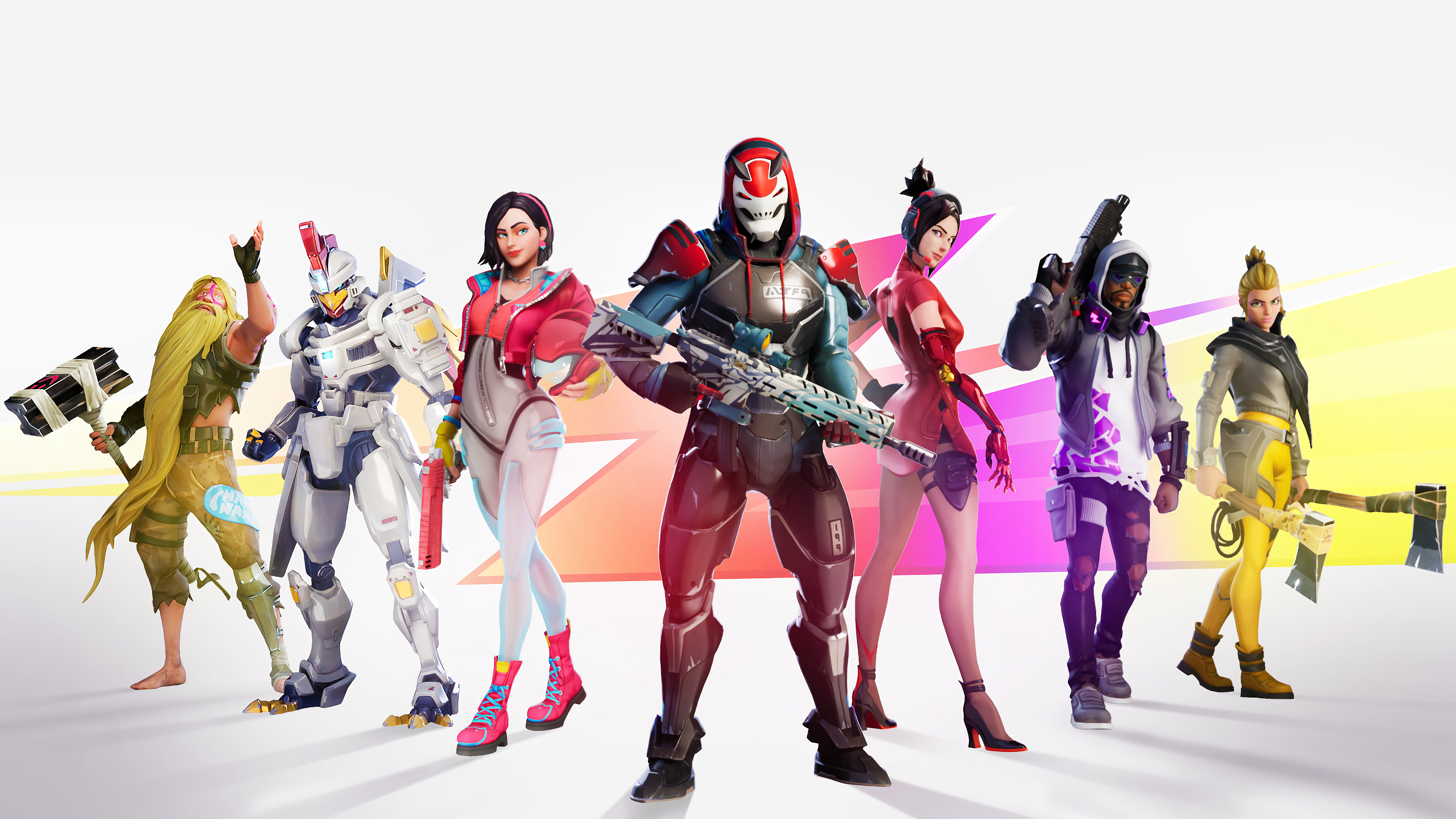 Fortnite Season 9 Battle Pass Skins Outfits 4k Wallpaper 222