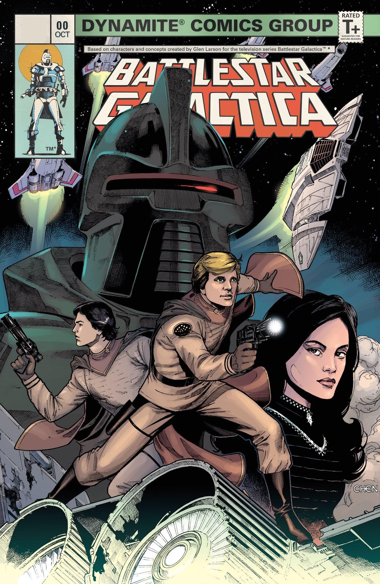 Battlestar Galactica (Classic) 0 Page 1