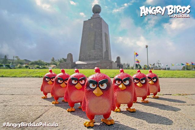 Los Angry Birds levantan vuelo en Ecuador