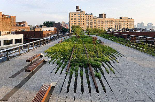 parc america, arhtiectura peisagera, proiect peisagistica urbana, design parc, gradina urbana, high line,