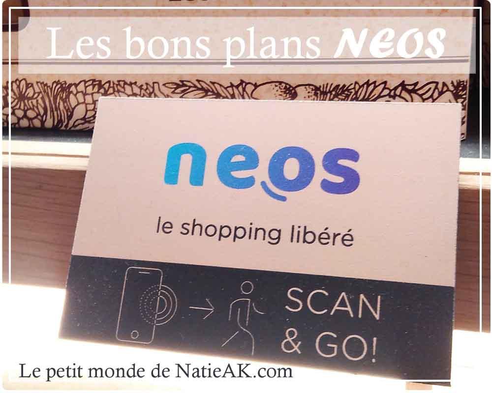 Neos,  utilisable dans plusieurs magasins Carrefour City et Bio c' Bon, mais aussi Sephora et La Grande Epicerie