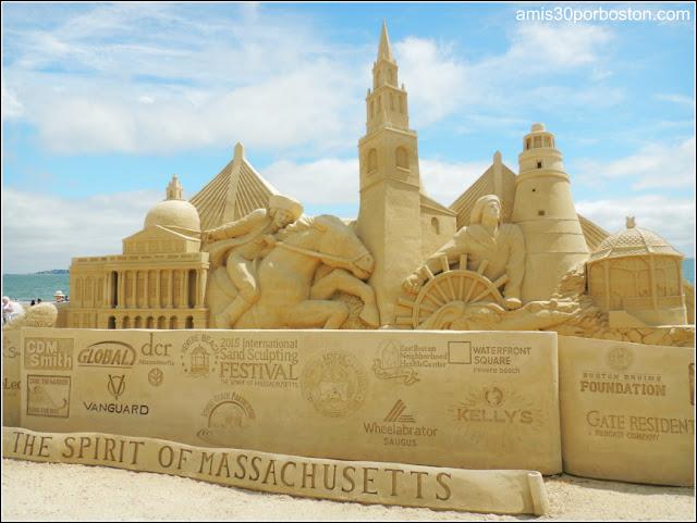 Festival Internacional de Esculturas de Arena de Revere Beach 2015