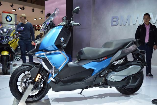 BMW mostro la C400X en EICMA 2017