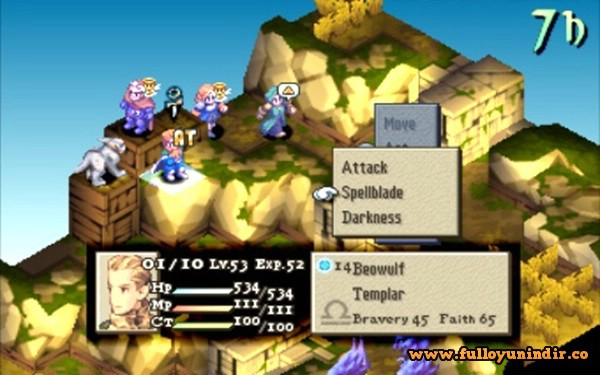 Final Fantasy Tactics The War of the Lions