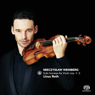 Weinberg Solo Violin Sonatas - Linus Roth - Channel Classics