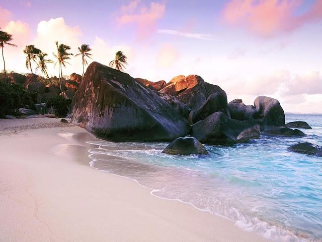 Scogli Isole Seychelles