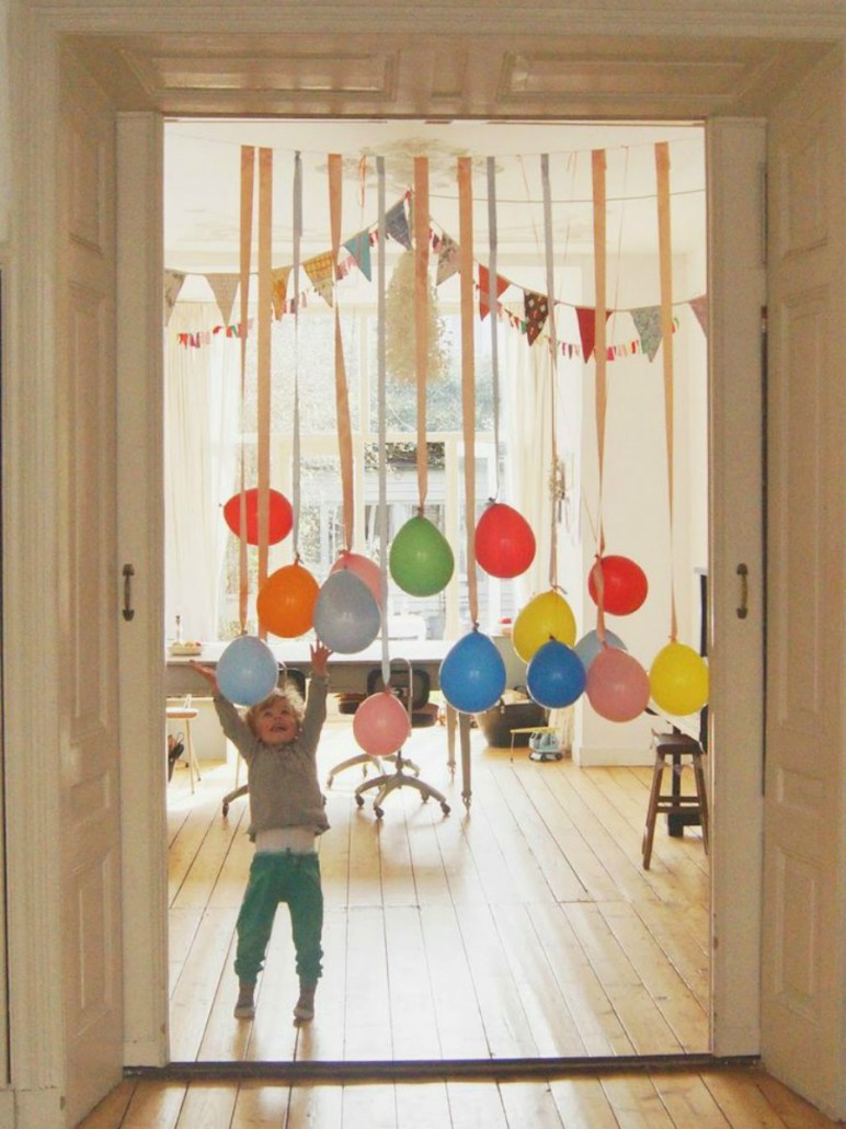 Tatamba blog de decoraci n c mo decorar con globos un - Como decorar un cumpleanos ...