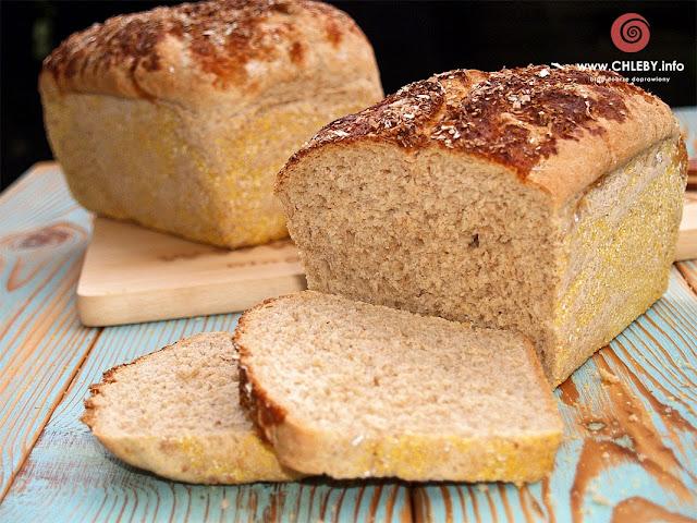 Chleb pszenno-orkiszowo-owsiany