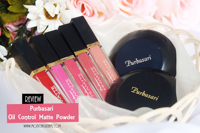 review oil control high matte powder