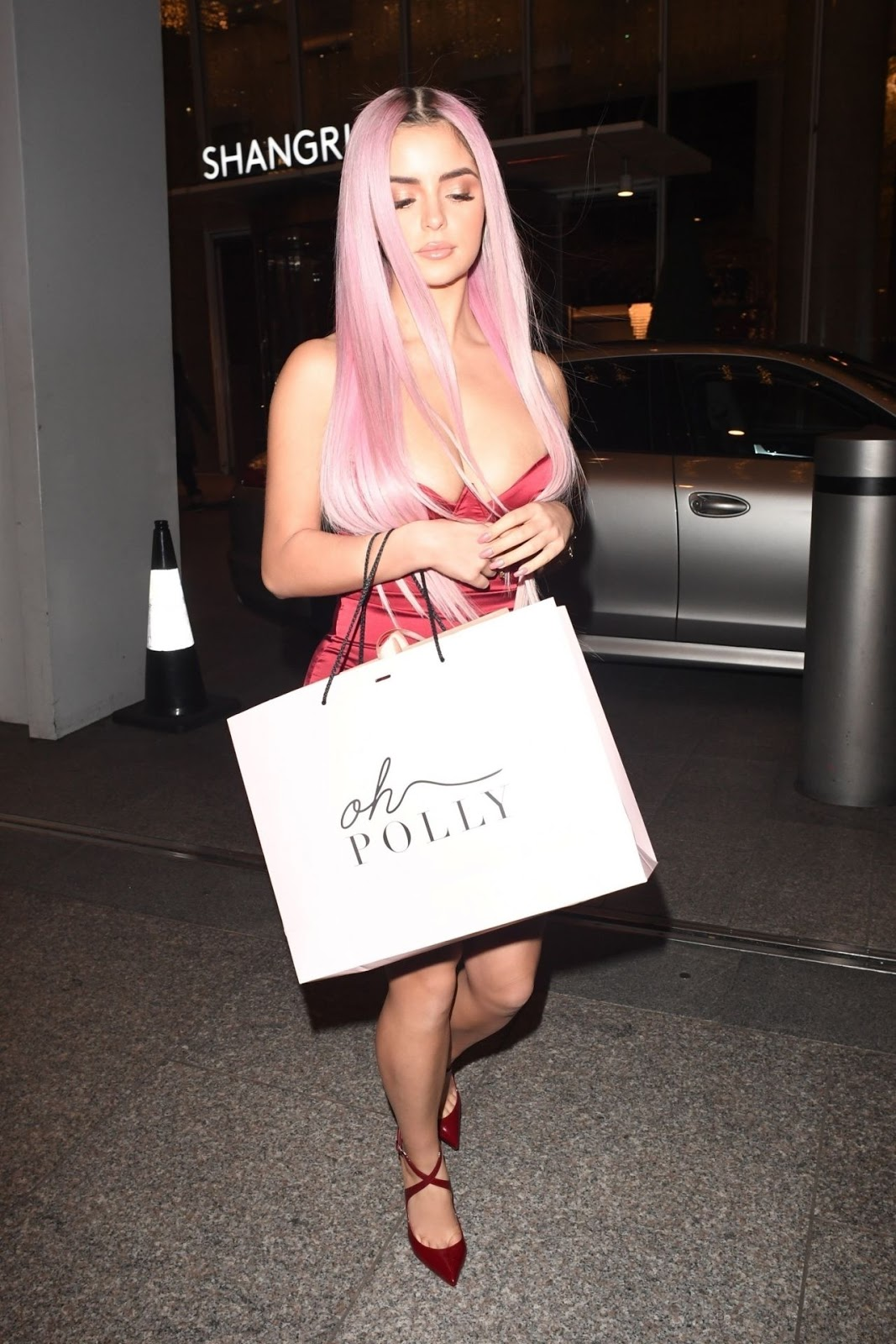 Demi Rose at The Shard in London 12/03/2018