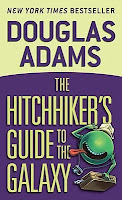 The Hitchhiker's Guide to the Galaxy Sci- Fi Science Fiction Bestseller Humor