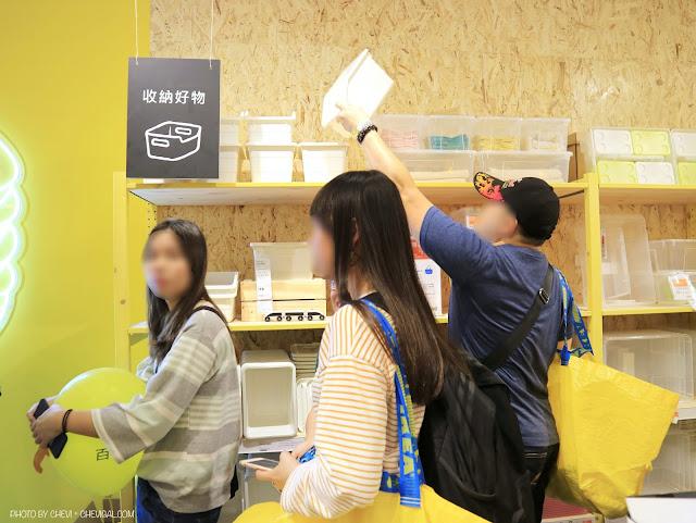 IMG 0583 - IKEA百元商店逢甲店今天開幕!排隊人潮塞爆現場,精選限定商品情報大公開